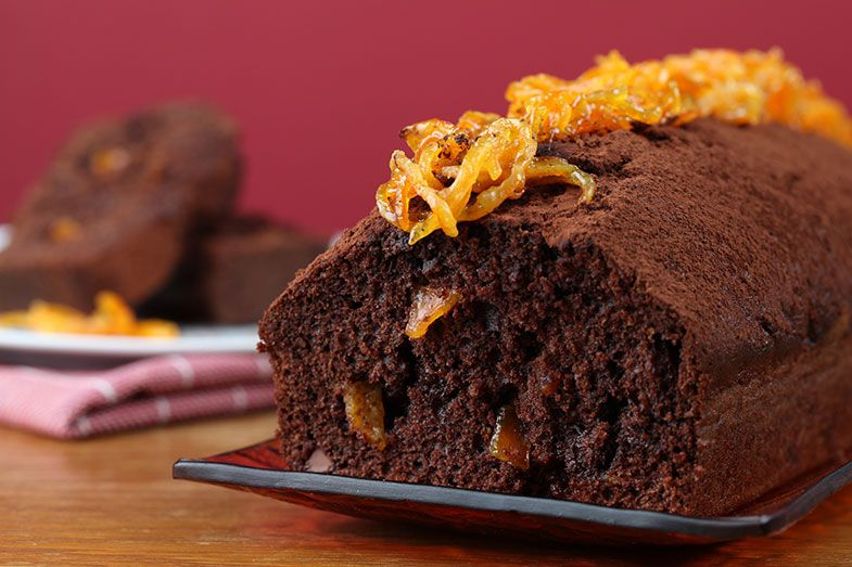 Recetas bizcocho de narnaja con chocolate