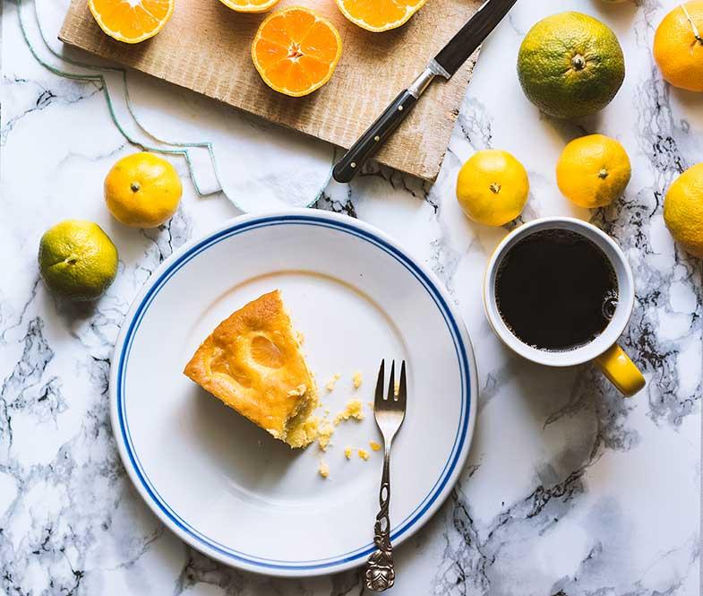 Recetas de bizcocho de naranja dieta