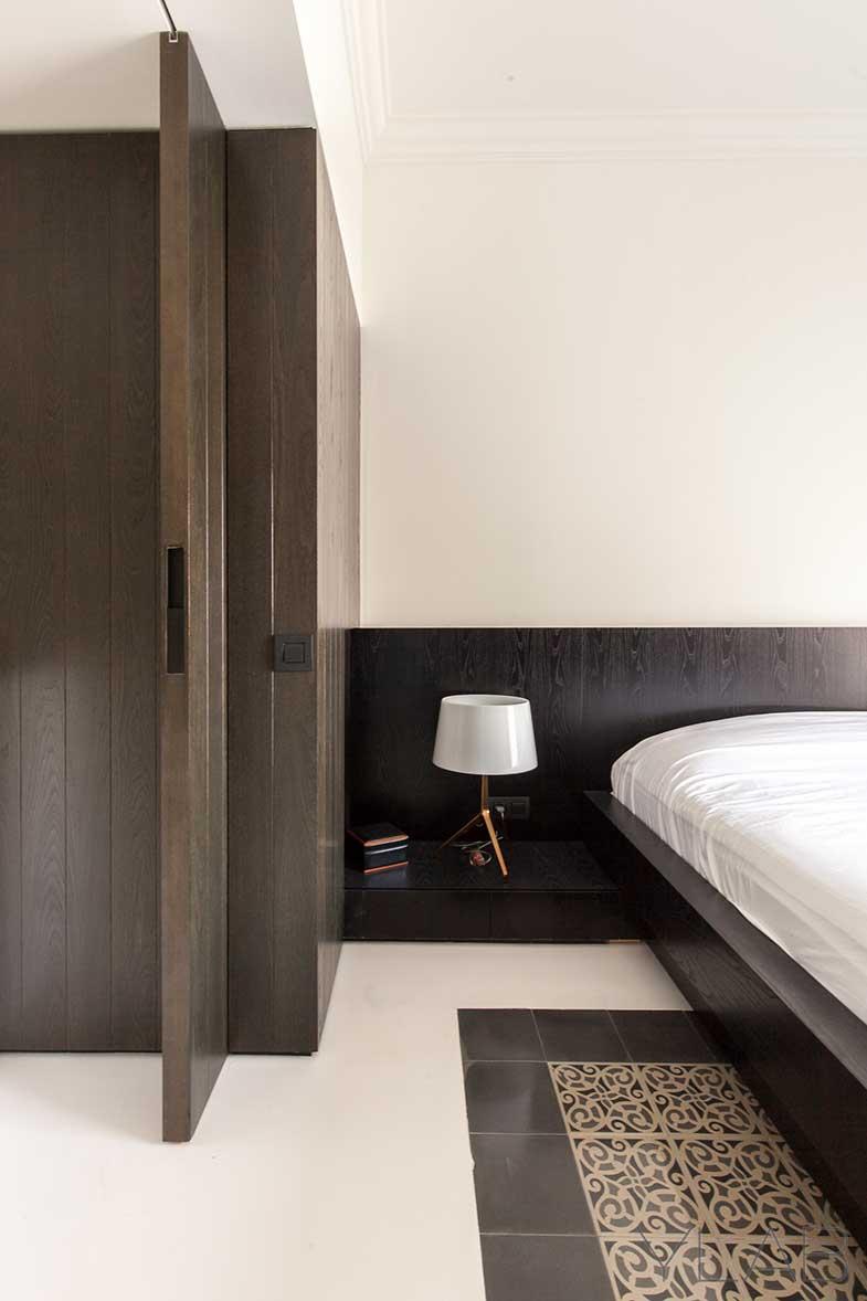 Reforma YLAB Arquitectos Barcelona - Detalle dormitorio