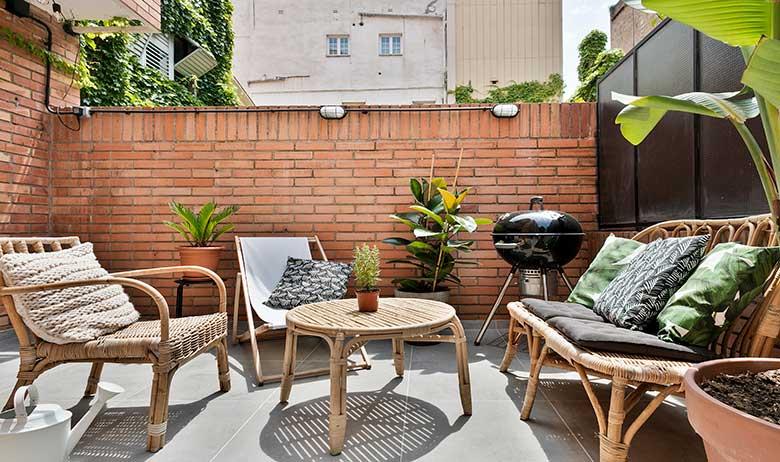 Reforma de estilo nórdico por Dröm Living terraza