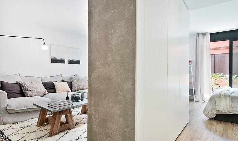 Reforma de estilo nórdico por Dröm Living dos pavimentos