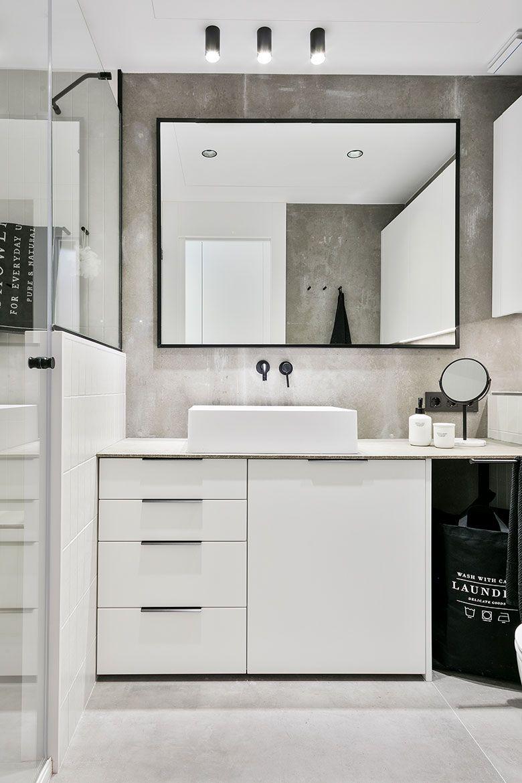 Reforma de estilo nórdico por Dröm Living baño